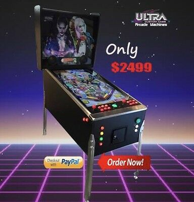 Arcade machine Virtual  Pinball Machine  450+ Tables &  12000+ Arcade Games!!