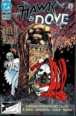 Hawk and Dove (1989 series) #26 in Near Mint - condition. FREE bag/board