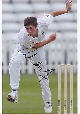CHRIS WOAKES - Englamd - A4 Hand Signed  Photo