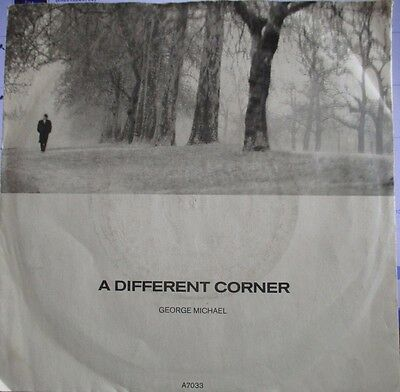 "GEORGE MICHAEL  ""A Different Corner"" : Deleted 1986 UK 7"" Vinyl Single VG"