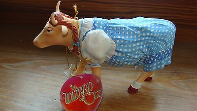 "MEDIUM alte COW PARADE..WIZARD OF OZ. "" DOROTHY COW""  7241,Etikett.OVP"