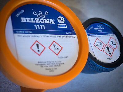 belzona 1111 (Super metal) (2kg) For protection, repair,rebuild of any surface