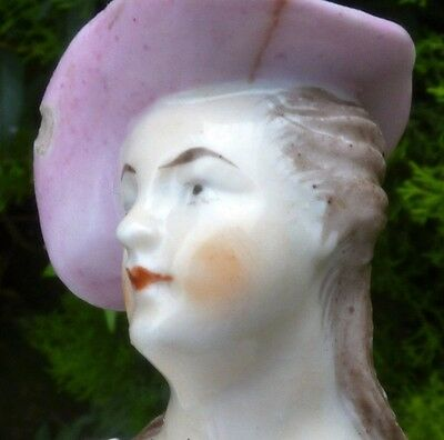 18th Century Derby Porcelain Shepherdess