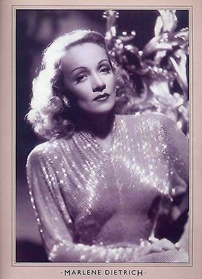 Marlene Dietrich Poster . Film Movie Actress. Falling In Love Again .not Dvd