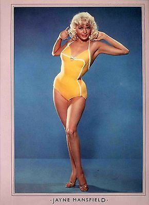 Jayne Mansfield Poster . Film Movie Actress . The Girl Cant Help It .not Dvd
