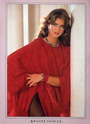 Brooke Shields Poster . Film Movie Actress. The Blue Lagoon Taxi Driver .not Dvd