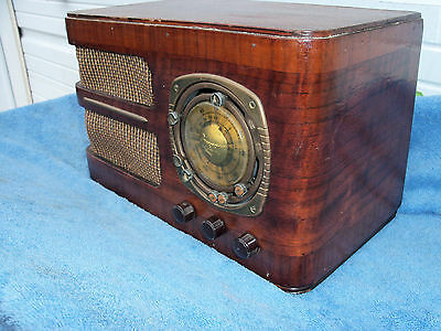 Grunow Teledial Model 588 Vintage Tube Radio Works