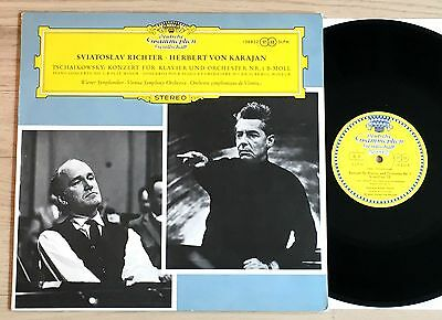 TSCHAIKOWSKY piano concerto RICHTER KARAJAN 1960s TULIP STEREO DGG MINT
