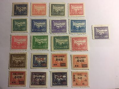 China P R C Stamps M N H Early Issues
