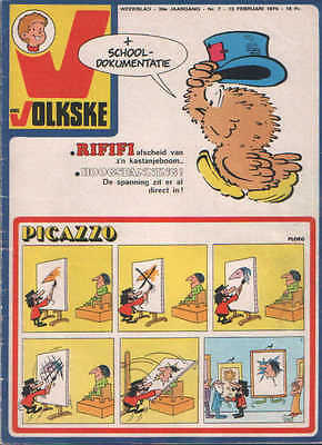 Ons volkske n°7   1975  complet avec point tintin