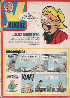 Ons volkske n°19   1975  complet avec point tintin