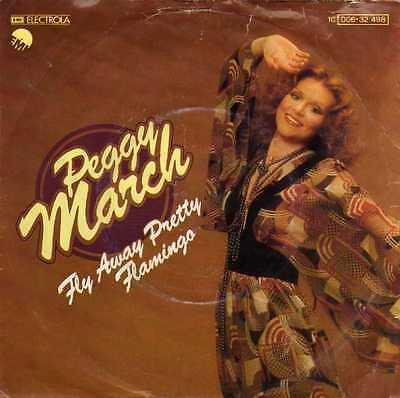 "Peggy March- Fly Away Pretty Flamingo/ Ein Sommer Mit Klaus, 7"" Vinyl Single"