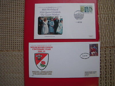 20 VARIED AND INTERESTING  FIRST DAY COVERS FROM THE 1980s  LOT 7