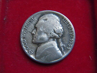 1944  Five Cent Coin From The United States