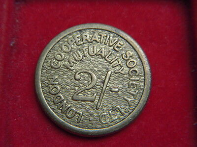 A Two Shilling Token From The London Co-Operative Mutual Society