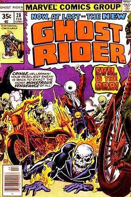 Ghost Rider (1973 series) #28 in Near Mint - condition. FREE bag/board