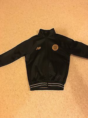 Celtic Junior Training Walk Out Jacket 2016-17 Size MB