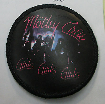 motley crue  COLLECTABLE RARE VINTAGE PATCH EMBROIDED 2006 METAL