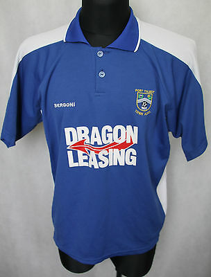 Port Talbot Town A.F.C Wales Football Jersey Shirt Bergoni 42/44 Large (156)