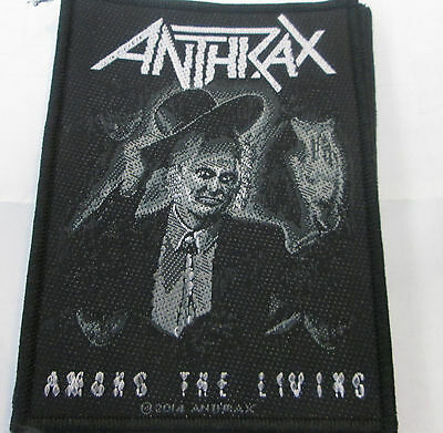 Anthrax Collectable Vintage Patch  Woven  English Picture