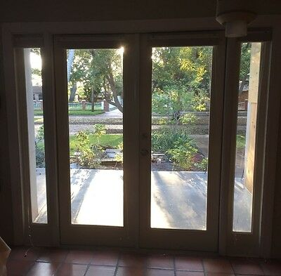 doors -Therma-Tru patio-double french with side lites-90x80