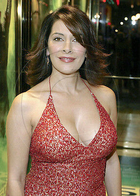 Marina Sirtis   busty in low-cut dress   8x10 photo   nice cleavage   #2