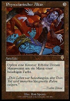 Komplett-Set  INVASION  - deutsch -  Phyrexian Altar+Reya+Champion+Rout+Sterling