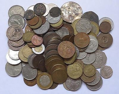 World Coins  Lot Of 120