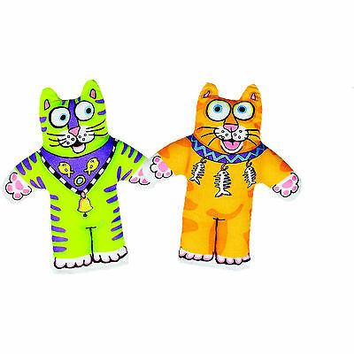 Fatcat Classic Kitten Little Catnip Toy Great Fun Toy For Cats In Bright Colours