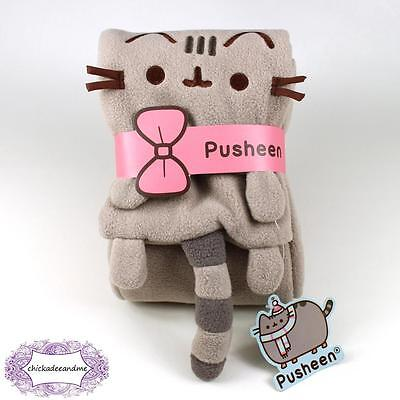 PUSHEEN Winter 2016 Subscription Box Exclusive Sold Out Fleece Scarf NEW Cute!