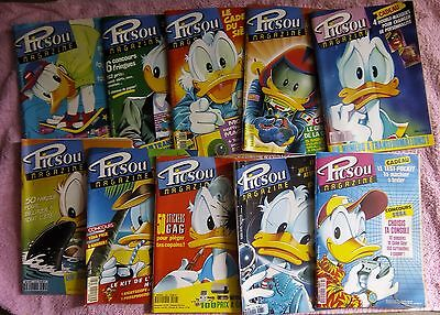 Lot 10 Picsou Magazines 1991 228  A 231 233 A 238