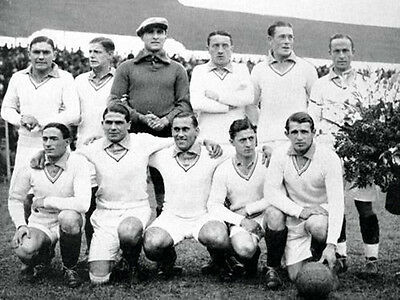 FRA-008 : 8x6 PHOTO - FRANCE 1930 WORLD CUP v MEXICO