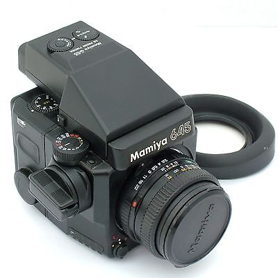 Mamiya 645 Super / Super AE / 80mm f2.8 N / Super 120 / hood, excellent cond.