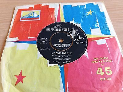 Kenny Lynch - My Own Two Feet / So Much To Love You For - Hmv - Pop 1367