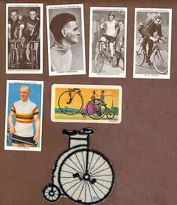 CYCLING: Collection of Scarce Antique Cards (1937)