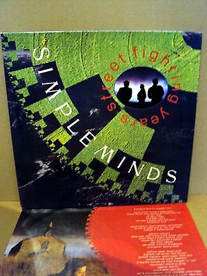 Simple Minds - Street fighting years LP D'89
