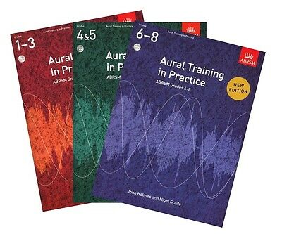 ABRSM Aural Training in Practice. Grades 1-3, 4-5, and 6-8 Available