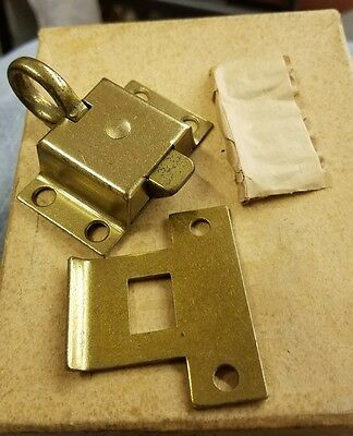 Russwin transom window or cabinet  latch  or catch  new old stock