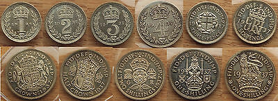 George VI (1936-1952) 1937 Proof set 15 coins