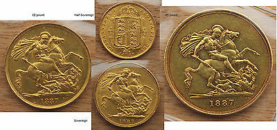 Golden Jubilee Set, Victoria (1837-1901) 11 coins