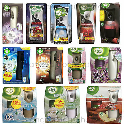 Air Wick Freshmatic Machine Refill Air Freshener Home Office You Choose Scent