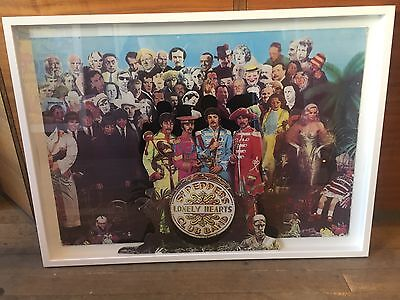 sgt peppers poster  The Beatles  Original Vintage Promo 3-D Shop Display