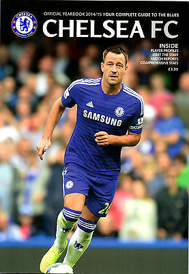 Official Chelsea 2014/15 Yearbook