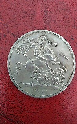 george V1 coin 1951