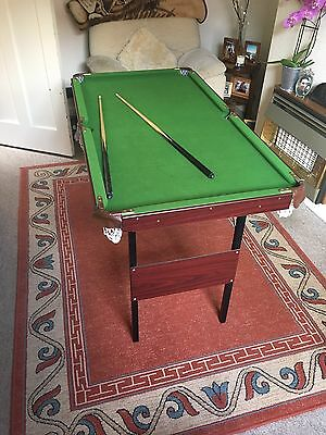 Pool And Snooker Table Including Set