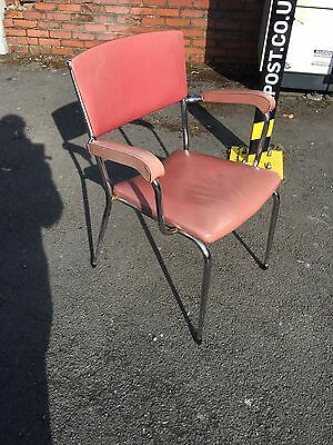 VINTAGE DU AL DARE INGLIS OFFICE CHAIR 1950s DELIVERY AVAILABLE