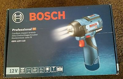 Bosch Professional GDS 12v-115 Cordless Impact Wrench (Bare Tool)