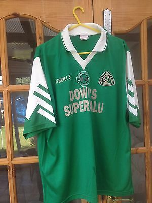 "Vintage Rare  GAA Gaelic Football/Hurling Shirt Jersey Size 44"" SHORT SLEEVED"