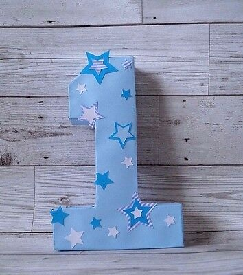 Number One Cake smash Prop 1st Birthday Table centrepiece decoration photo booth