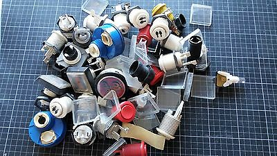 JOB LOT Fruit Machine And Video Games Buttons & Lenses BOX 93